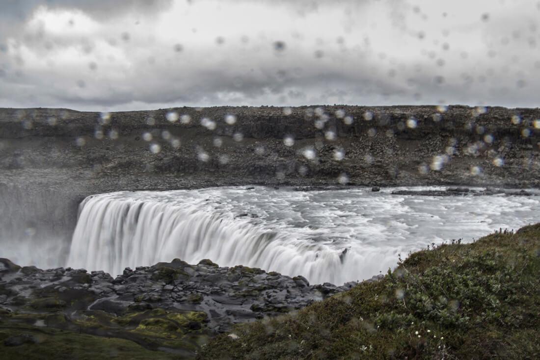 Islandia wodospad Dettifoss