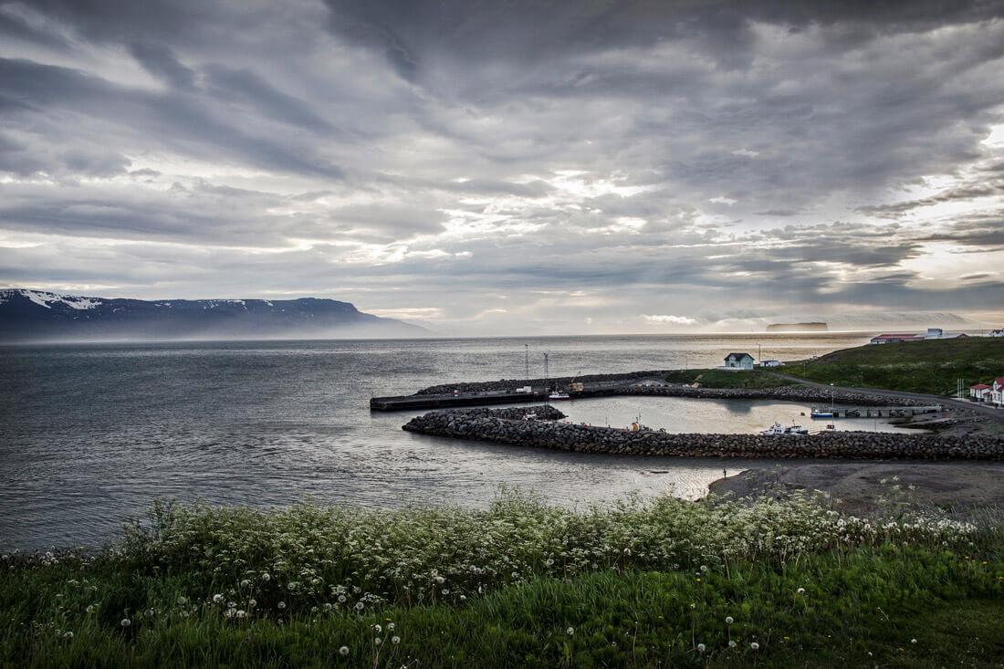 Islandia krajobraz w Hofsos