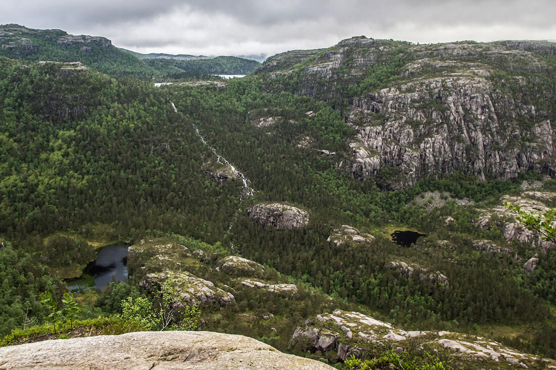 Norwegia, Preikestolen, natura