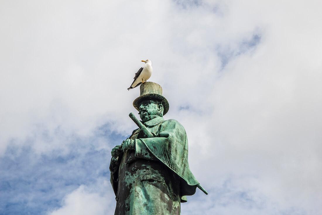 Pomnik Alexandra Kiellanda w Stavanger