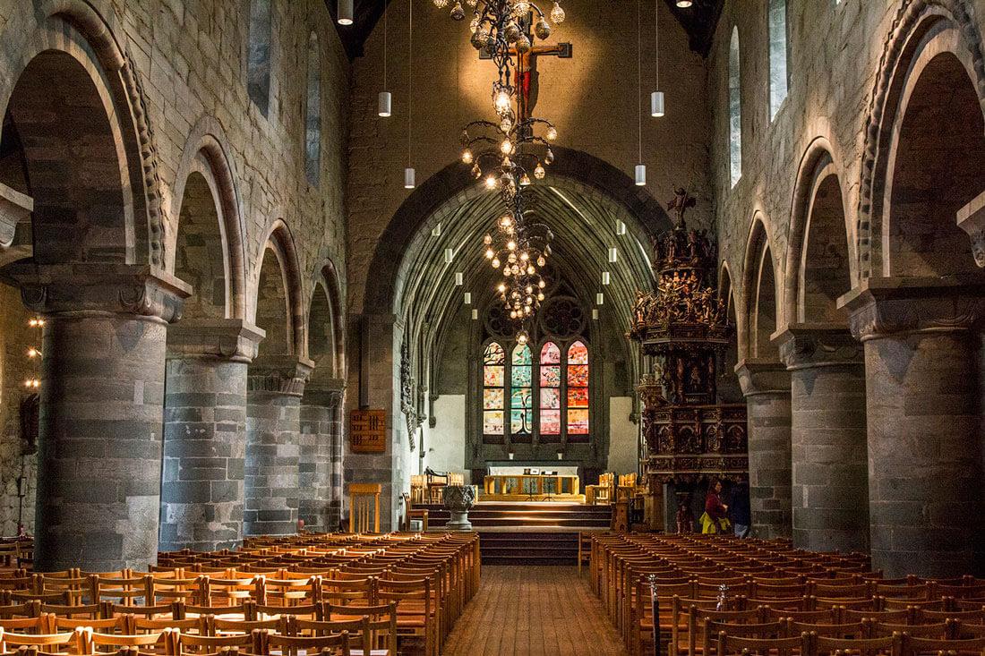 Norwegia, Stavanger Domkirke, katedra
