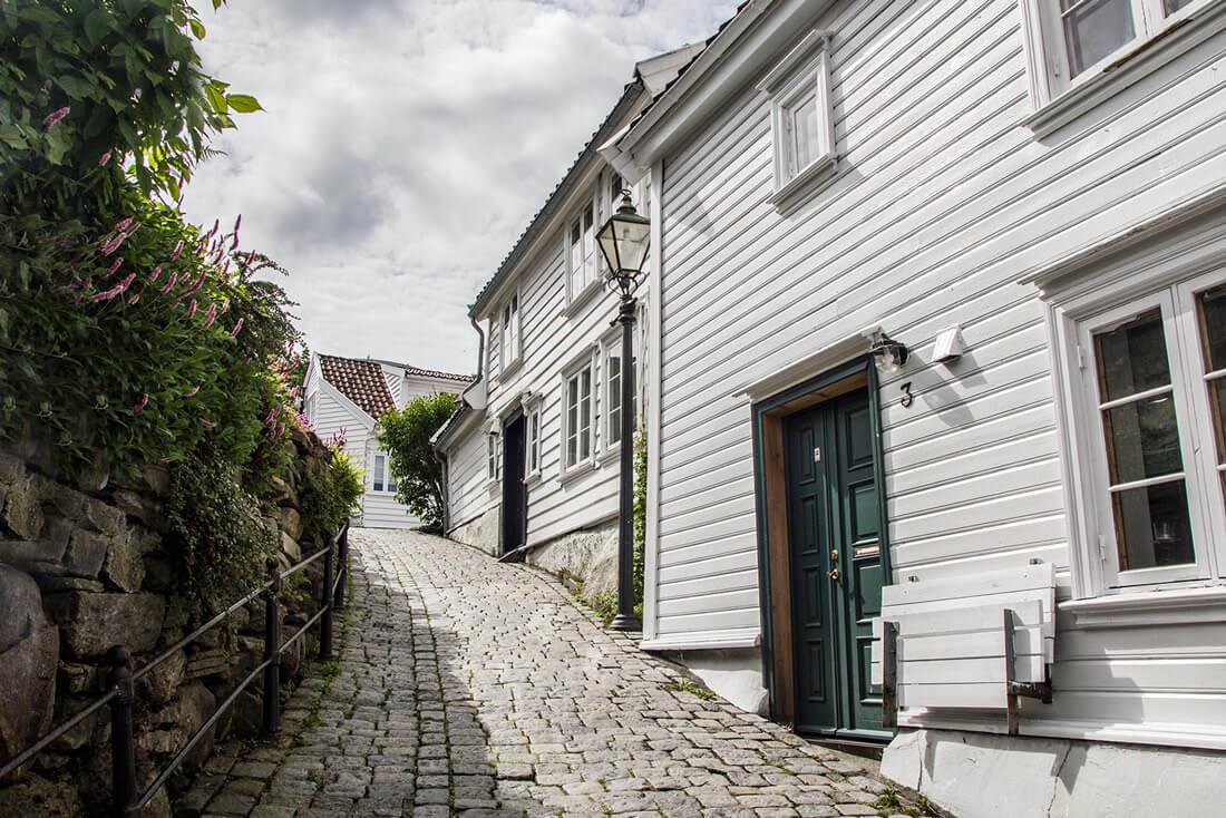 Norwegia, Stavanger, Gamle Stavanger