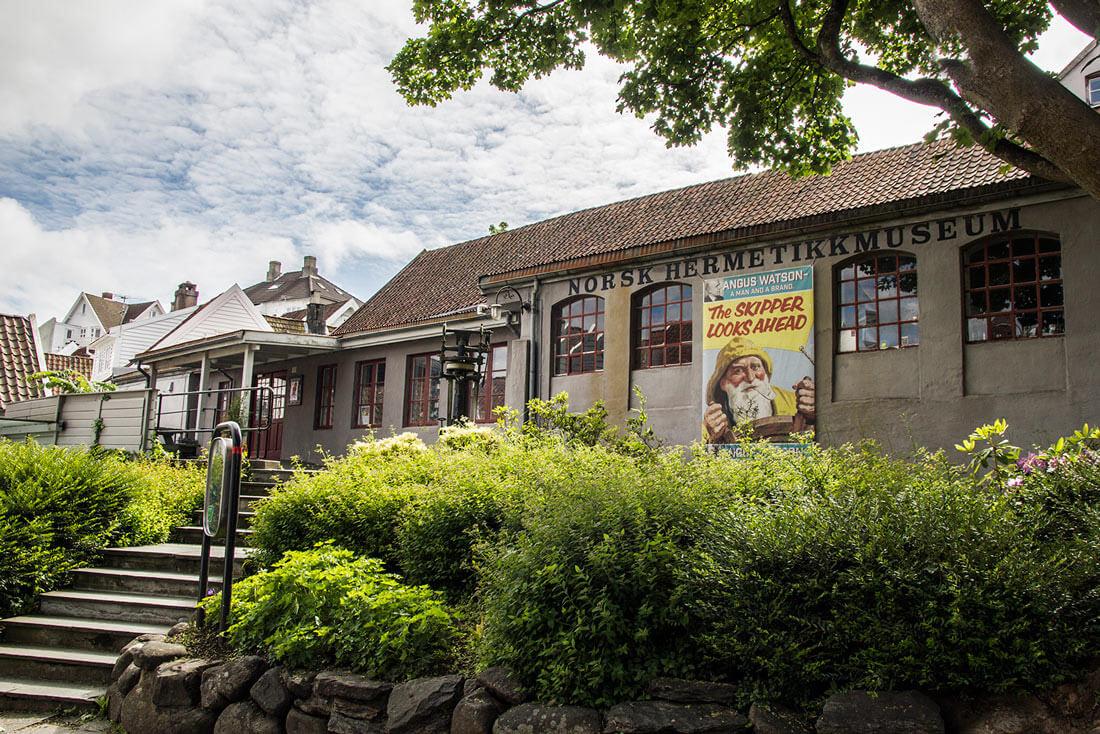 Norwegia, Stavanger, stare miasto, Muzeum Produkcji Konserw