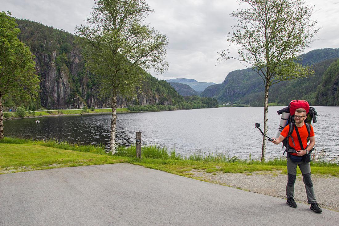 Norwegia, Rogaland, autostop