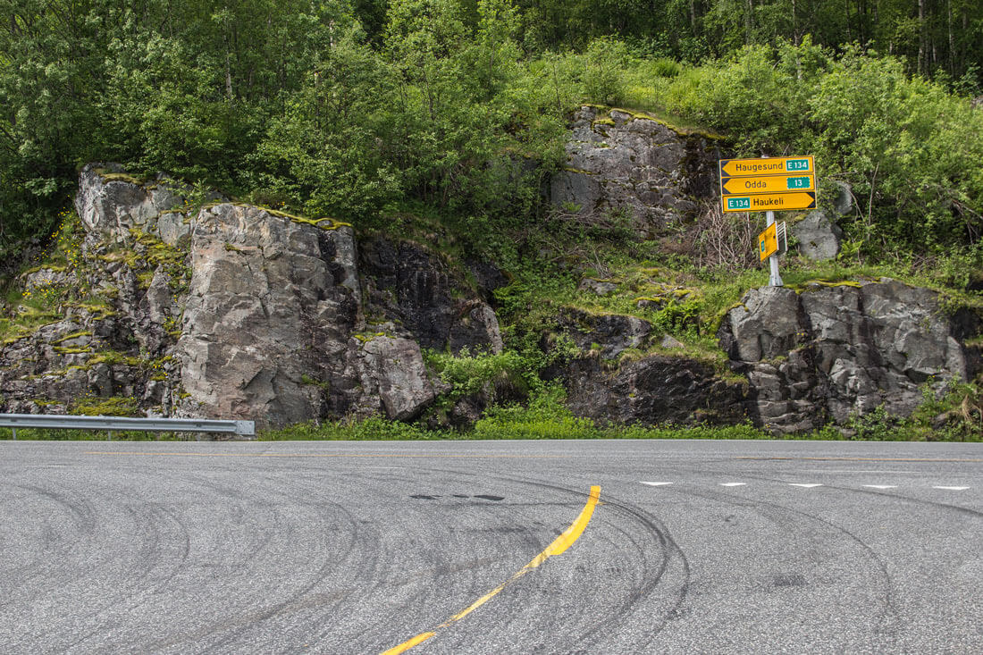 Norwegia autostop Trolltunga