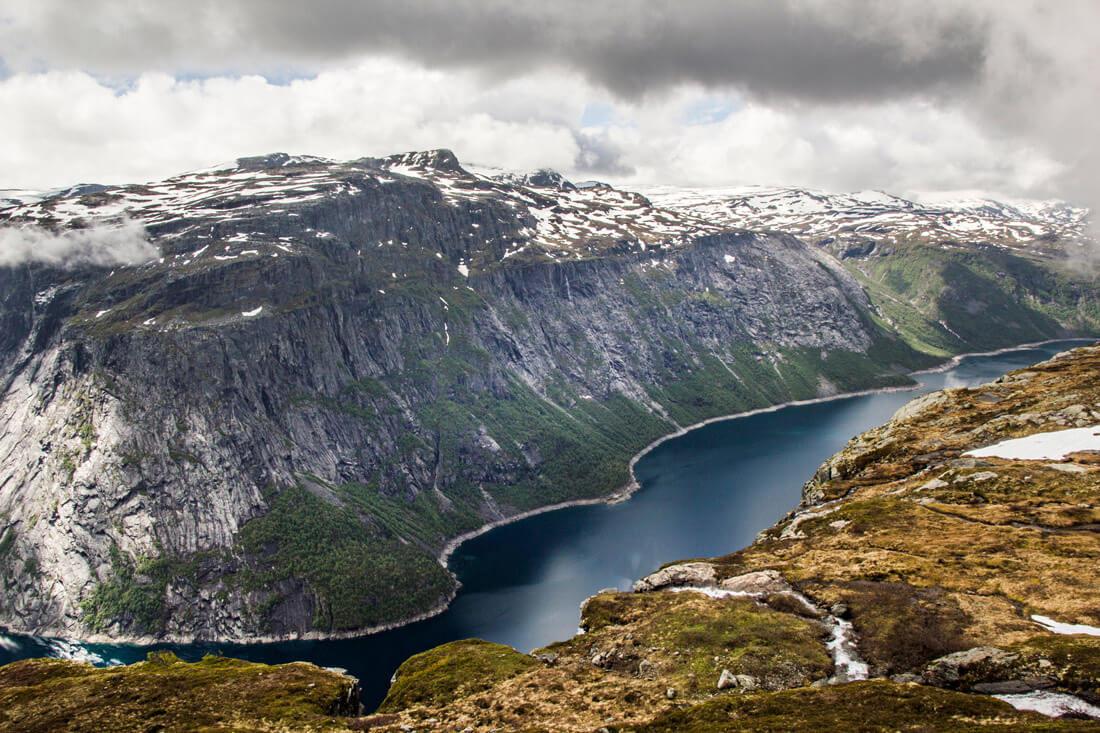Norwegia szlak na Trolltungę