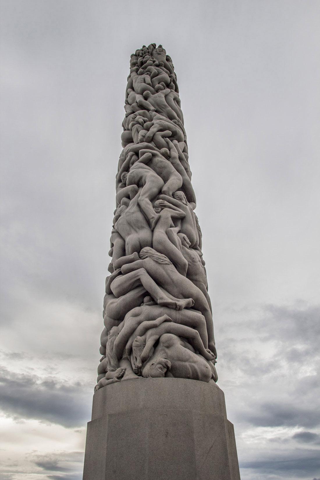 Norwegia Oslo w jeden dzień Park Vigelanda