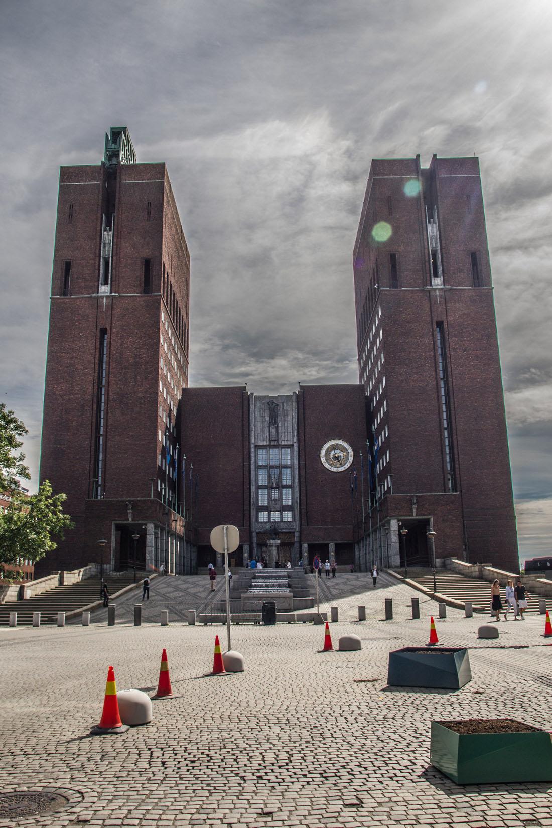 Norwegia, ratusz w Oslo
