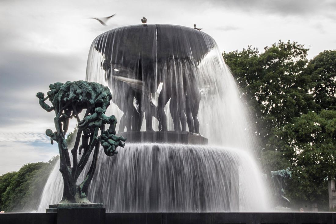 Norwegia Park Vigelanda rzeźby