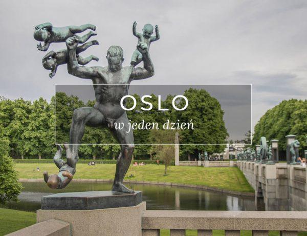 Norwegia Oslo w jeden dzień