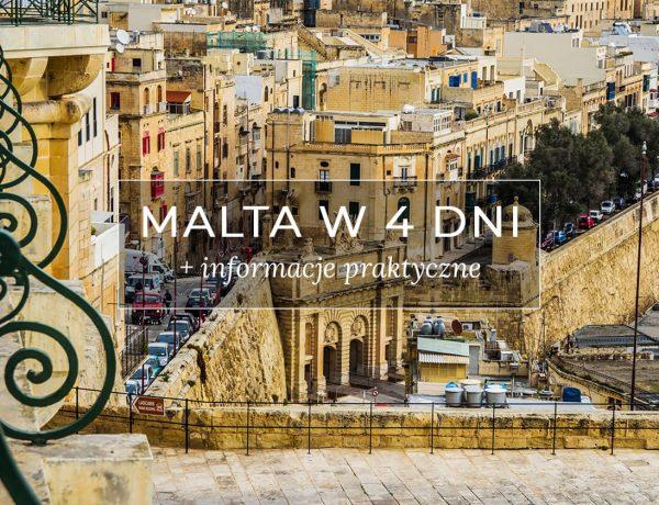 Malta w 4 dni