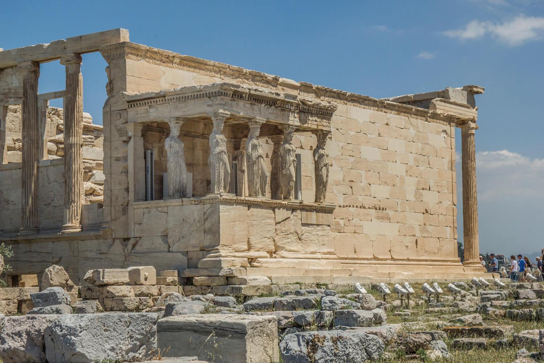 Grecja, Ateny, Akropol, Erechtejon
