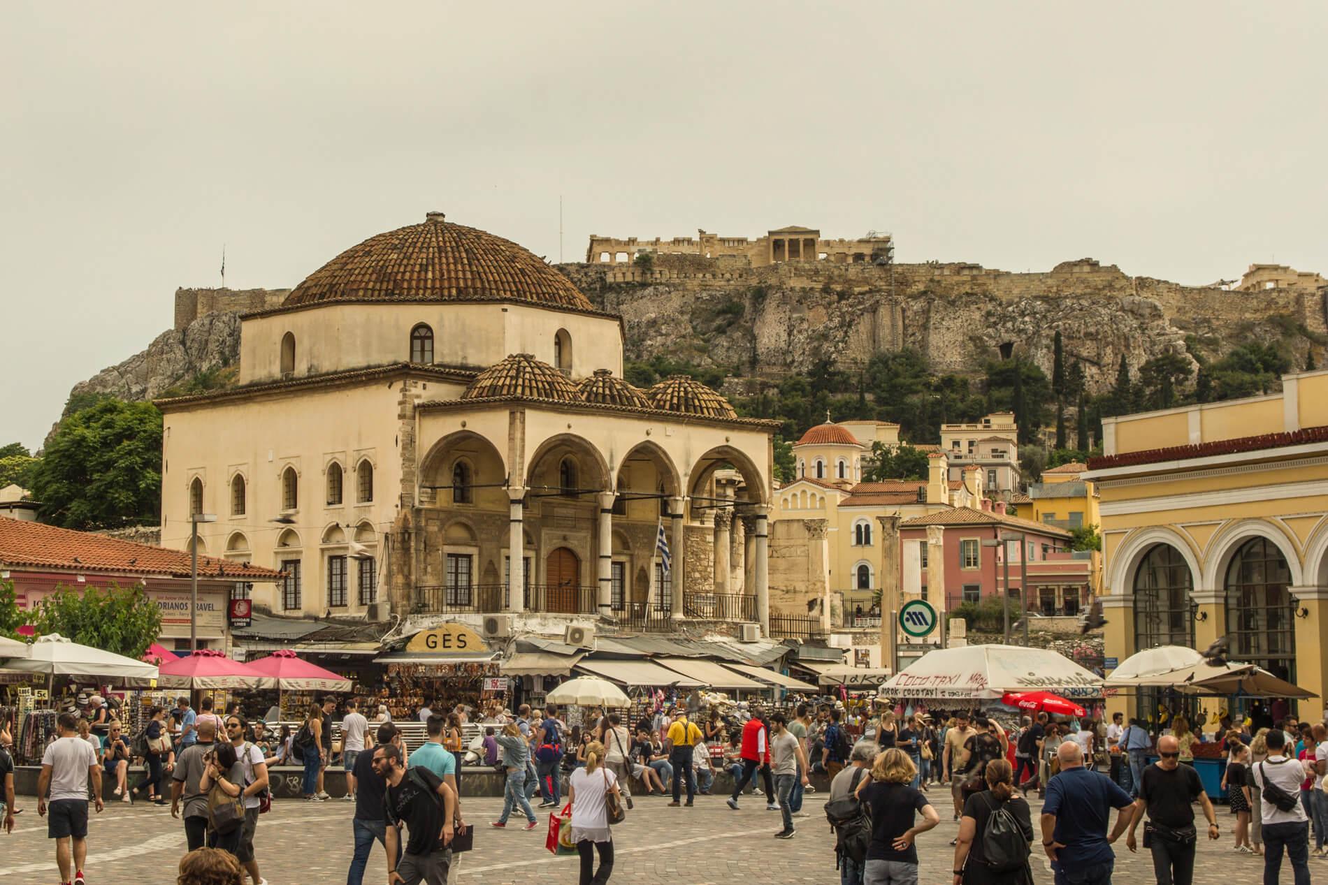 Grecja, Ateny, Plac Monastiraki