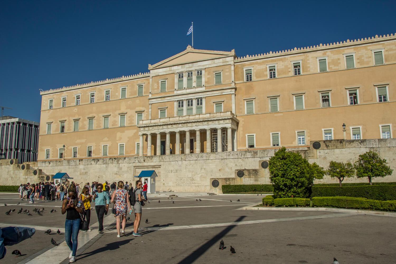Grecja, Ateny, parlament