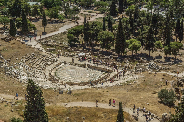 Grecja, Akropol, Teatr Dionizosa