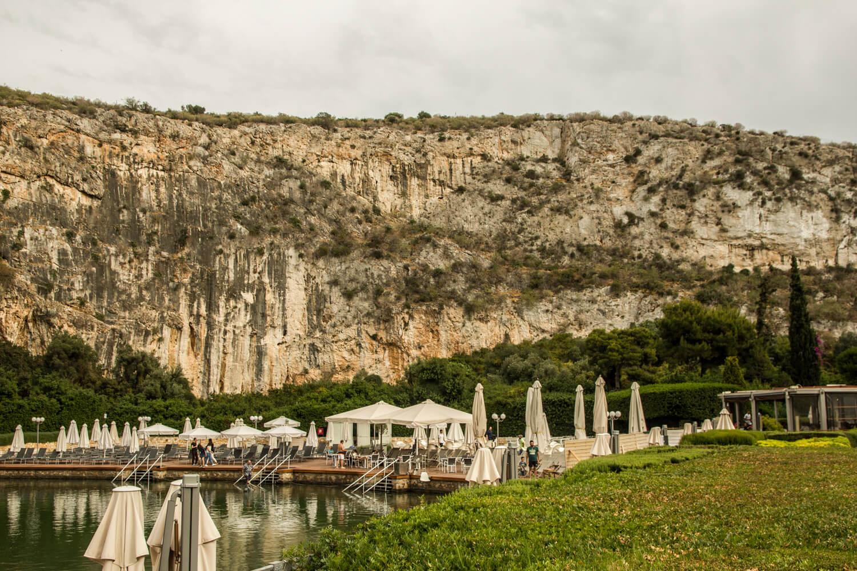 Grecja, Ateny, Jezioro Vouliagmeni