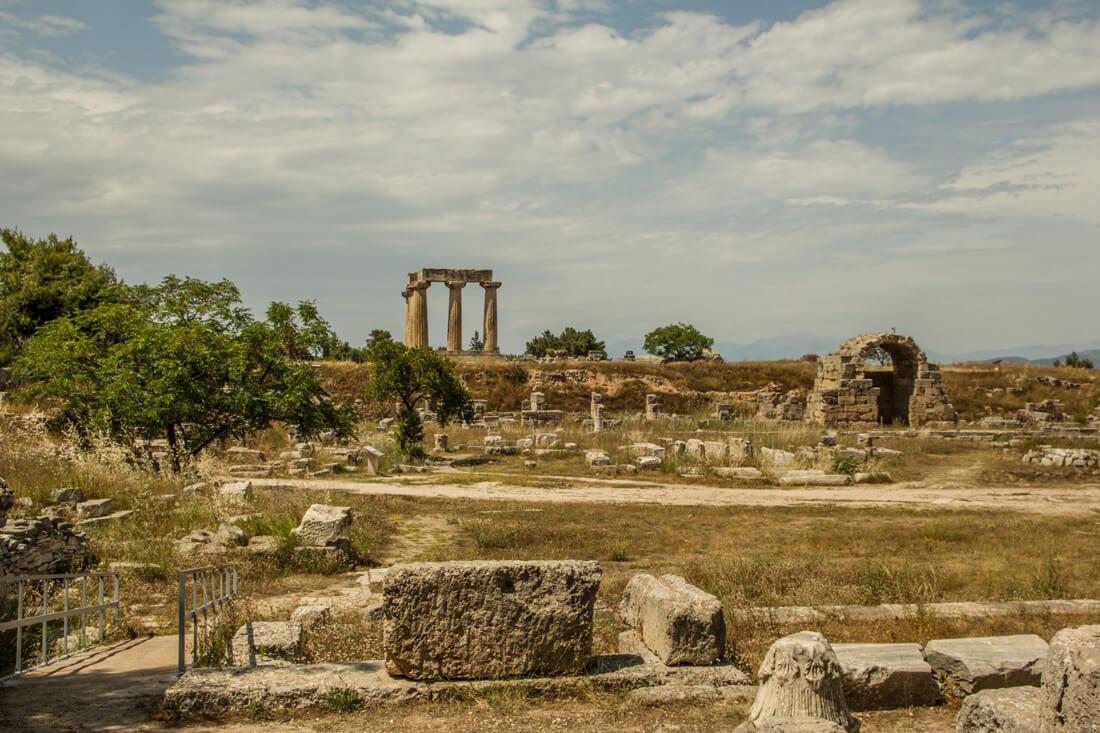 Grecja, Stary Korynt, ruiny