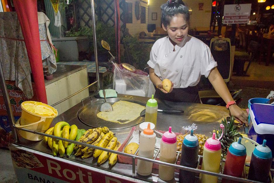 Tajlandia Koh Chang roti