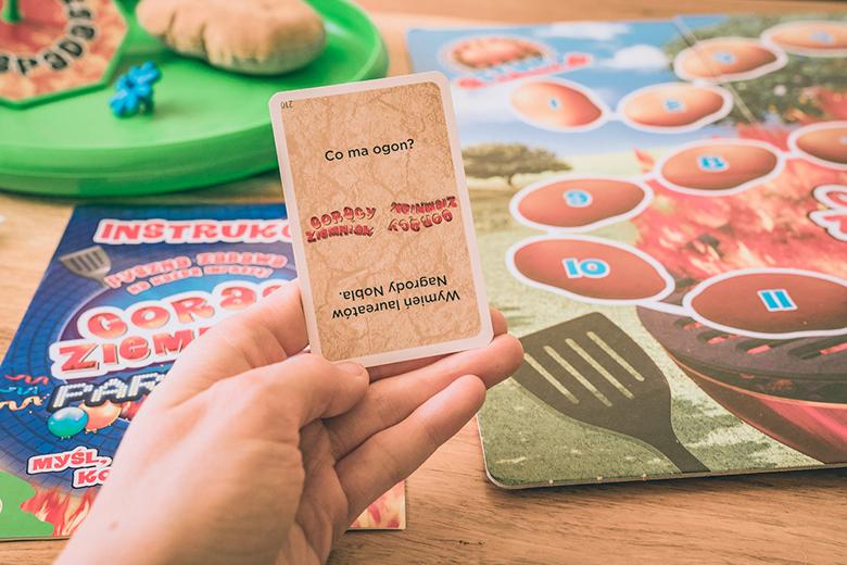 Gry planszowe i towarzyskie: Gorący Ziemniak