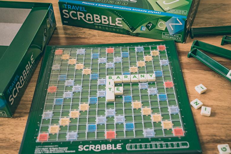 Gra Scrabble Travel