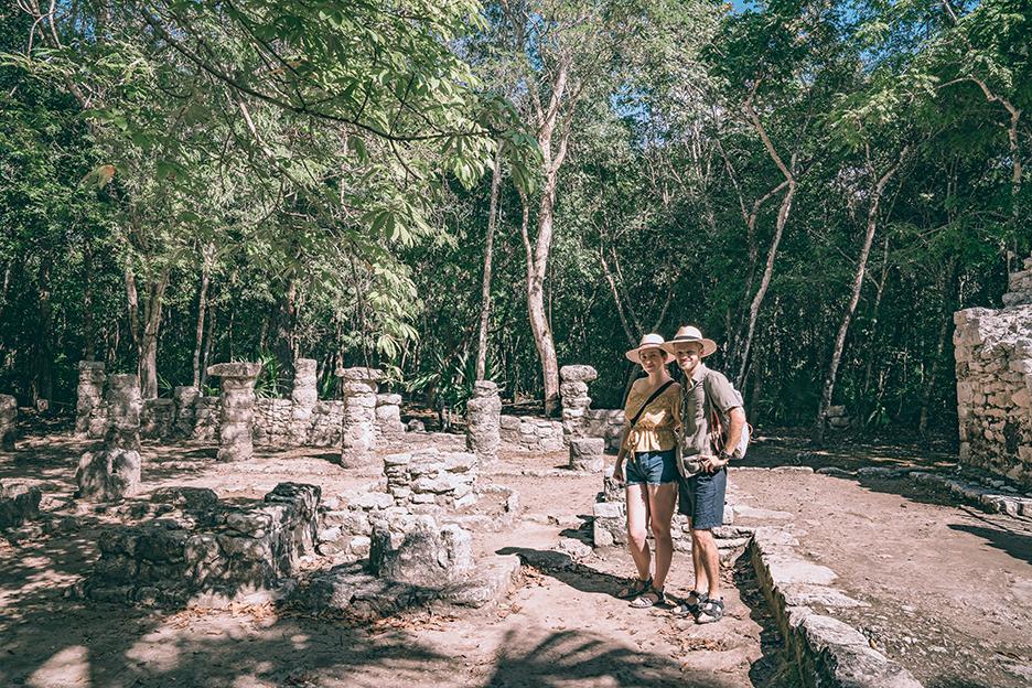 Strefy archeologiczne na Jukatanie i Coba