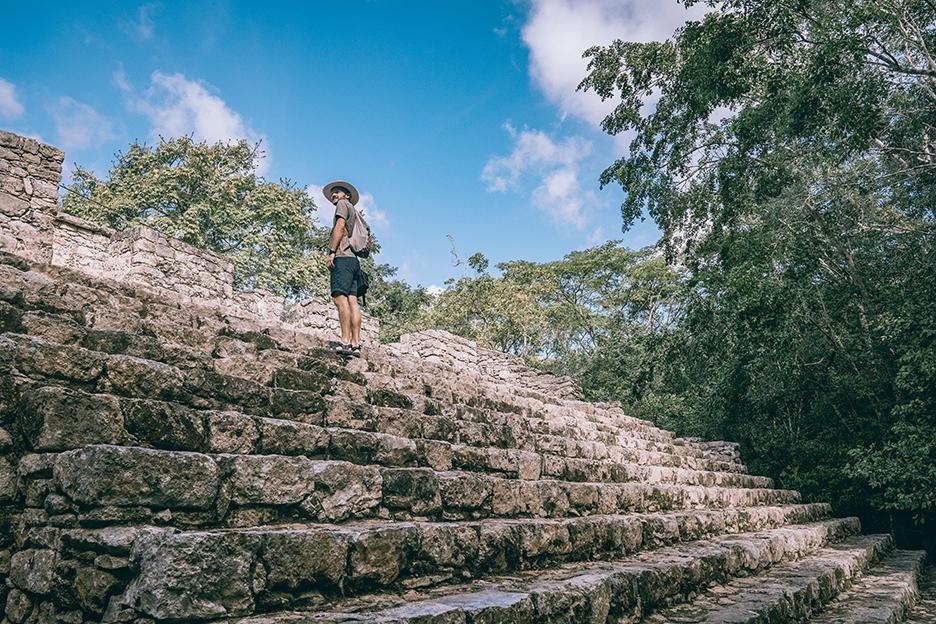 Strefy archeologiczne na Jukatanie: Coba