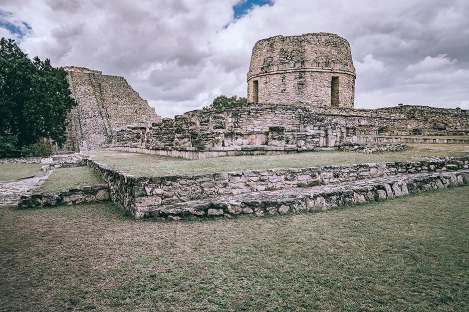 Strefy archeologiczne na Jukatanie: Obserwatorium w Mayapan