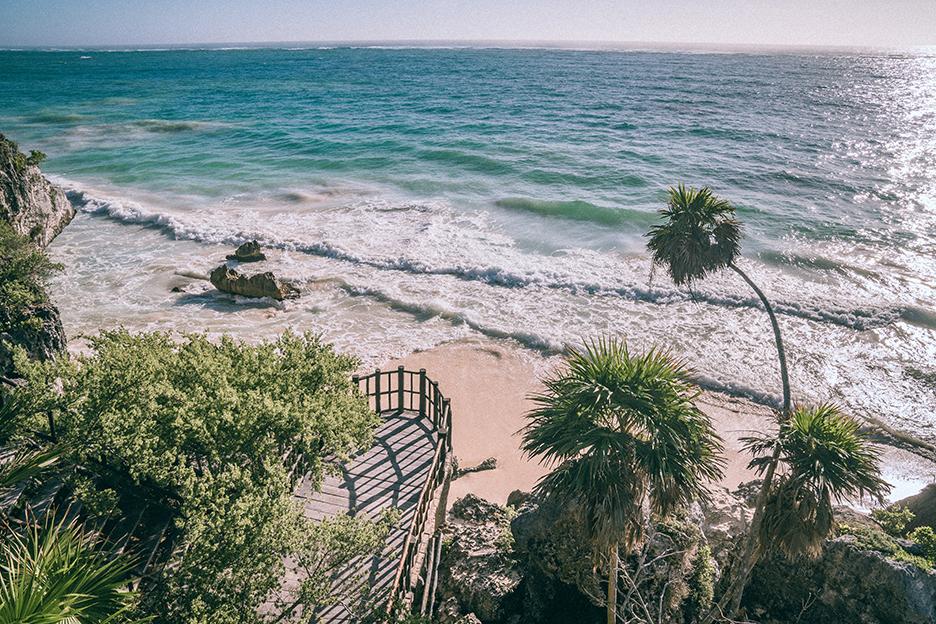 Strefy archeologiczne na Jukatanie: Tulum i morze