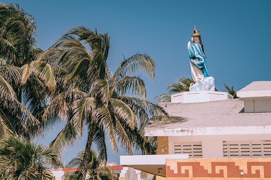 Meksyk, Isla Mujeres, kościół