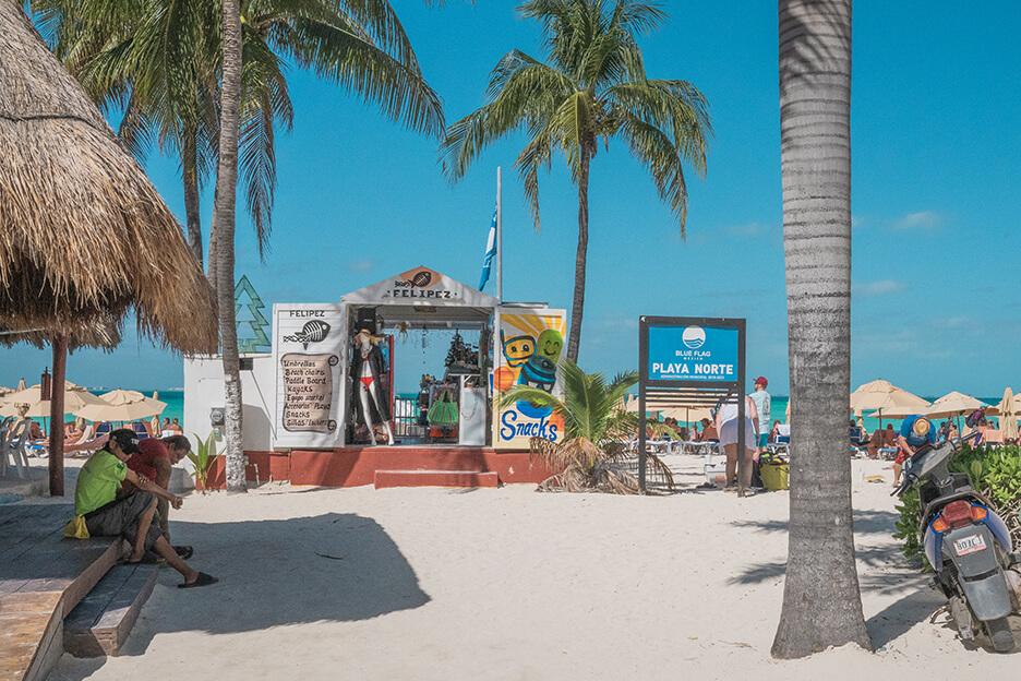 Meksyk, Isla Mujeres, plaża