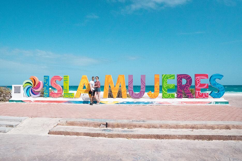 Meksyk, Isla Mujeres, Parador Fotografico