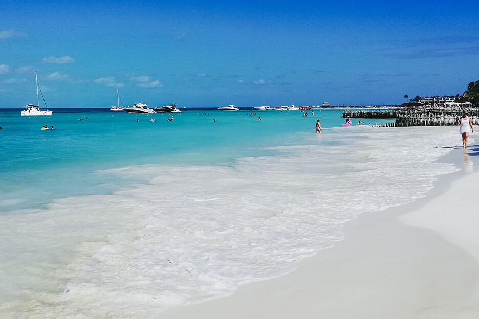 Meksyk, Isla Mujeres, Playa Norte