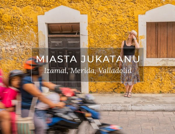 Miasta na Jukatanie, przewodnik