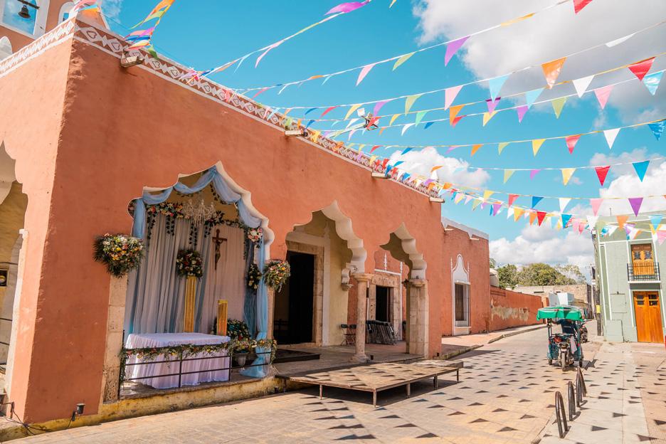 Meksyk, Jukatan, Valladolid, ulica.