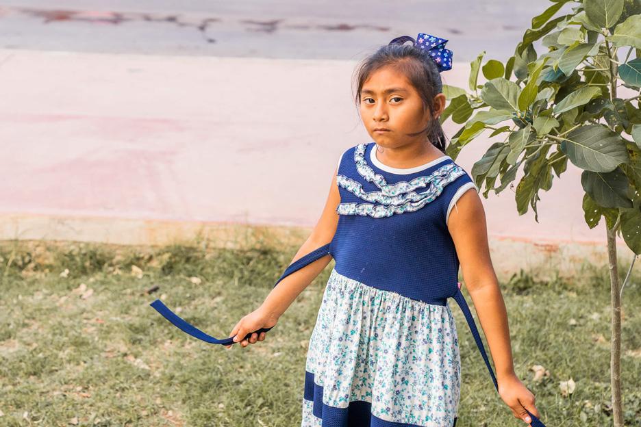 Meksyk, Jukatan, Valladolid, dziewczynka