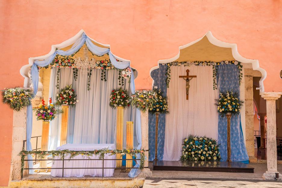 Meksyk, Valladolid, kościół
