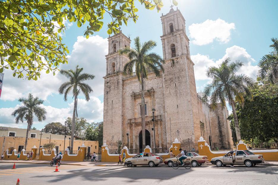 Meksyk, Jukatan, Valladolid, Katedra San Gervasio