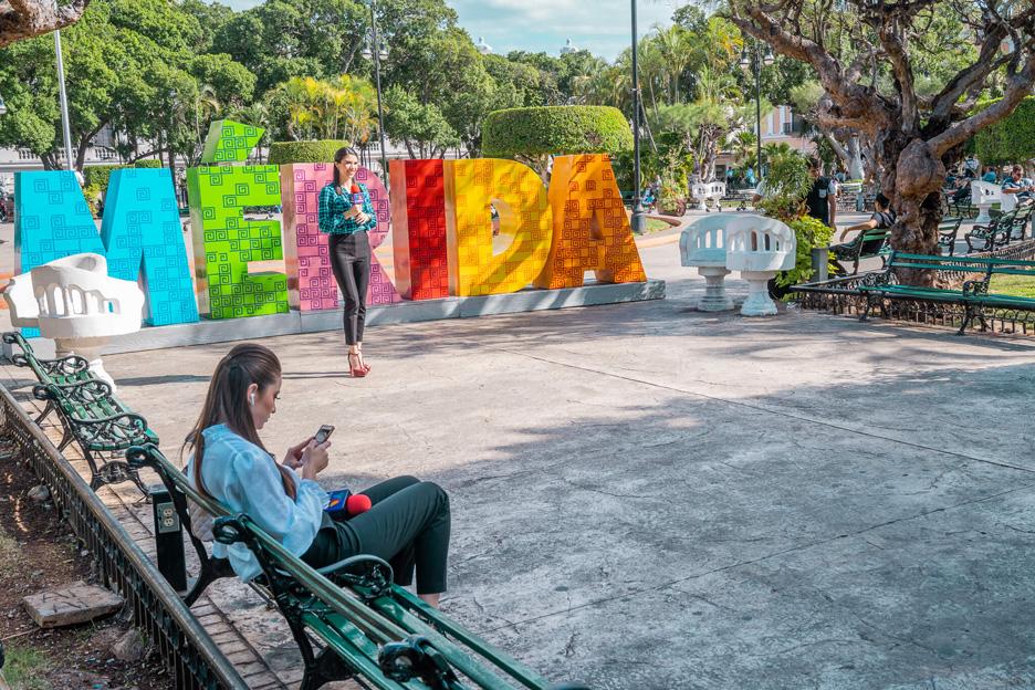 Miasta na Jukatanie, Merida, centrum