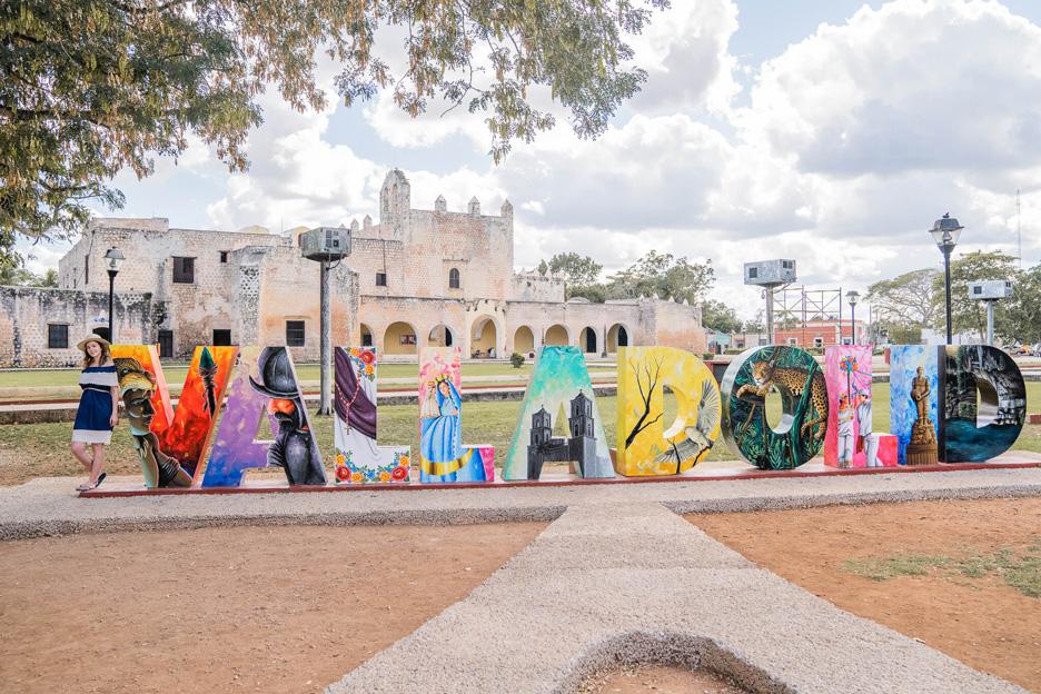 Meksyk, Jukatan, Valladolid, San Bernardino de Siena i Convento de Sizal