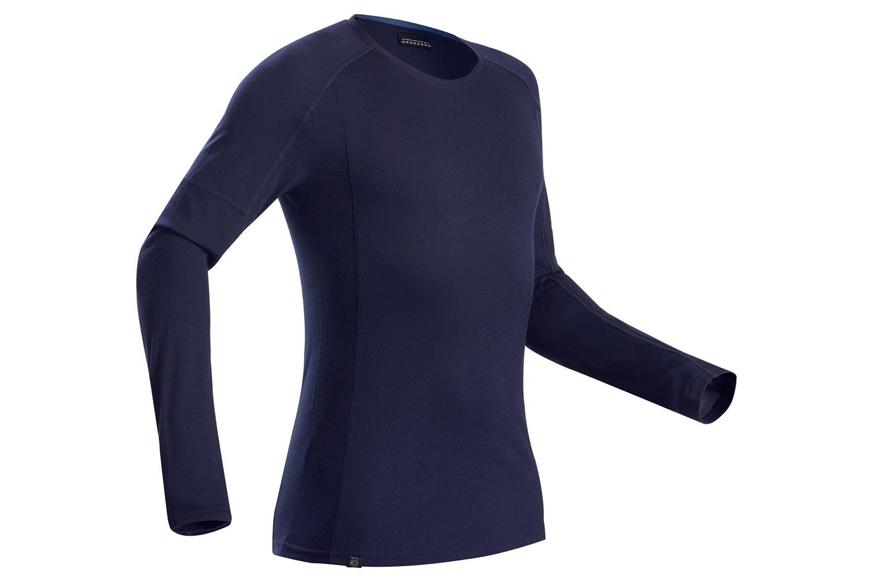 Bielizna termiczna, koszulka trekkingowa Decathlon