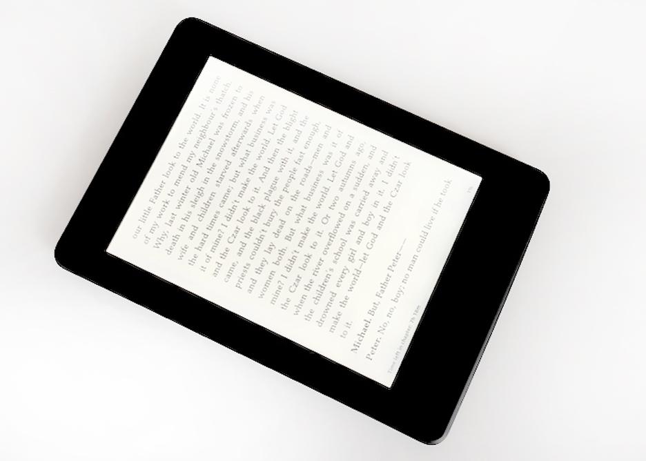 Prezent dla podróżnika, czytnik ebooków