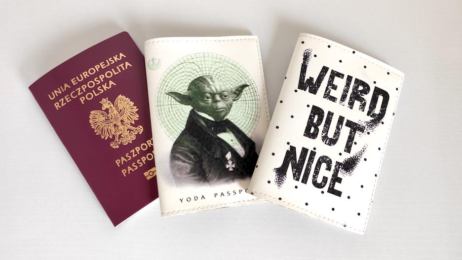 Prezent dla podróżnika, futerał na paszport