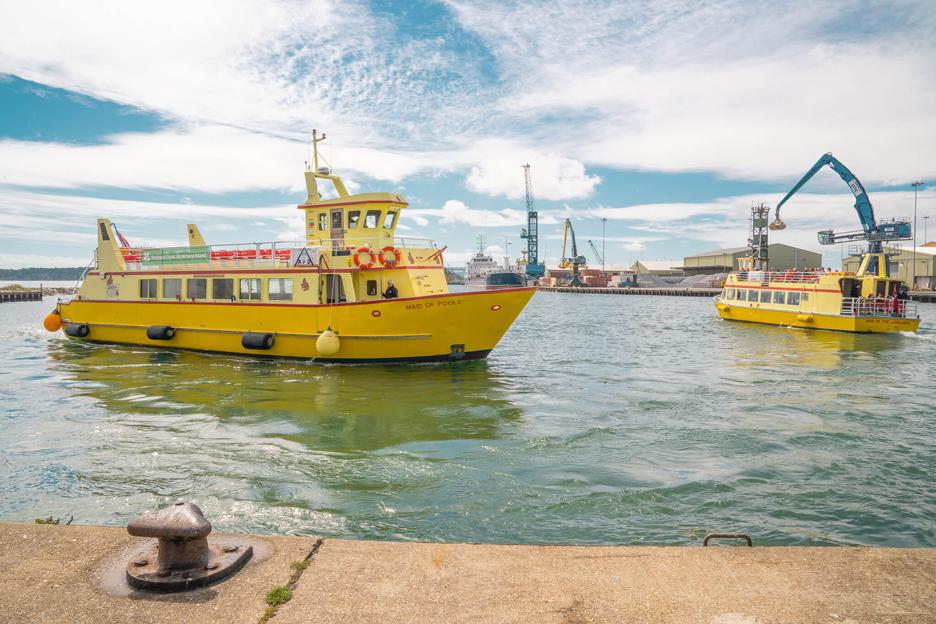 Port Poole, prom na Brownsea Island