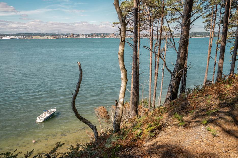 Widok na zatokę Poole
